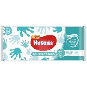 Salvetes mitrās Huggies Everyday bērniem 56gb
