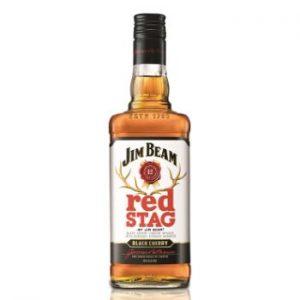 Viskijs Jim Beam Red Stag Black Cherry 40% 0.7l