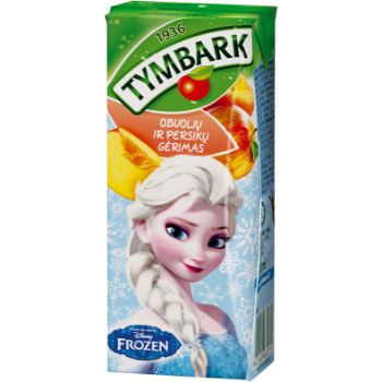 Dzēriens Tymbark ābolu-persiku 0.2l