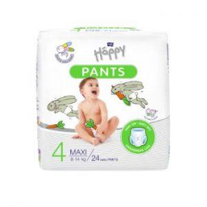 Autiņbiksītes Happy Pants Maxi 8-14kg 24gb