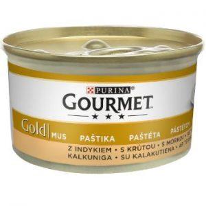 Barība kaķiem Gourmet Gold pastete (titars) 85g