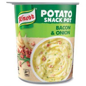 Biezenis Knorr kartupeļu ar bekonu un sīpoliem 51g