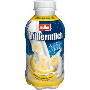 Piena dzēriens Mullermilch banānu 1.4% 400g