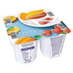 Jogurts Mondelice 0.2% Aveņu-aprikožu 125g