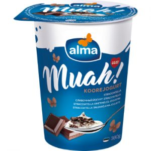 Jogurts saldkrējuma Alma ar Stracciatellu 380g
