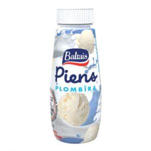 Piens Plombīra Baltais 250g