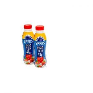 Piena dzēriens Piena Spēks zemeņu olbaltumvielu 460ml