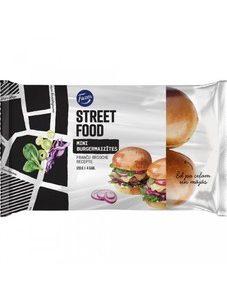 Burgermaizītes Street Food Mini Brioche 120g
