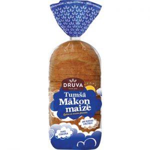 Maize Druva tumšā Mākoņmaize 450g