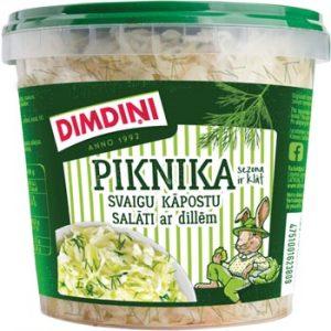 Svaigu kāpostu salāti ar dillēm Piknika 650g