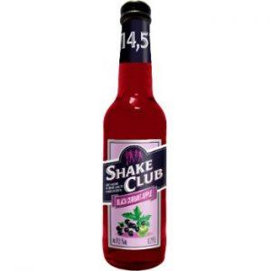 Alk. kokt. Shake Club black Currant-apple 14.5% 0.5l