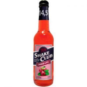 Alk. kokt. Shake Club Cranberry apple 14.5% 0.5l