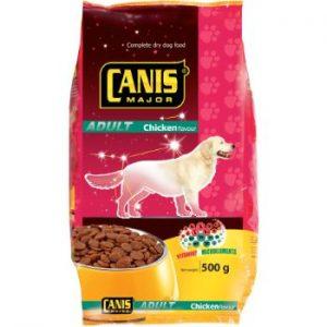 Barība suņiem Canis ar mājputnu gaļu 500g