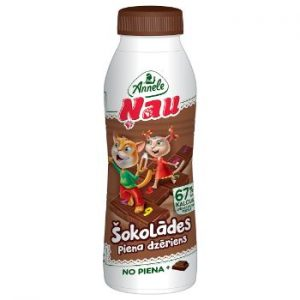 Piena dzēriens šokolādes Annele 2.6% 450ml