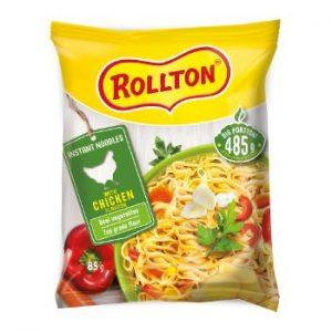 Nūdeles Rollton ātri pagat. ar vistas gaļas garšu 85g