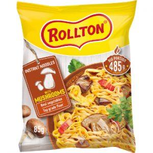 Nūdeles Rollton ar sēņu garšu 85g