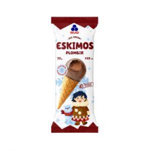 Saldējums Eskimo ar šokolādes garšu radziņš 110ml/70g