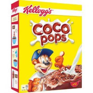 Sausās brokastis Kelloggs Choco Krispies 375g