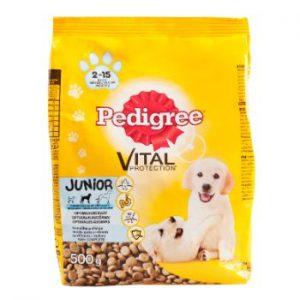 Barība suņiem Pedigree Junior 500g
