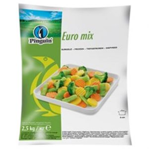 Dārzeņu maisījums Eiropas saldēts