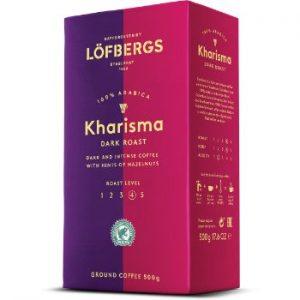 Kafija malta Lofbergs Kharisma 500g