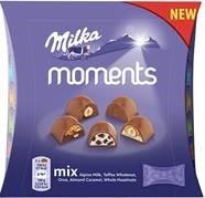 Šokolāde Milka Moments mix 97g