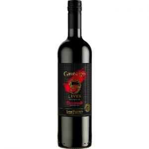 Vīns Gato negro Lives Resera Apasionado red 13.5% 0.75l