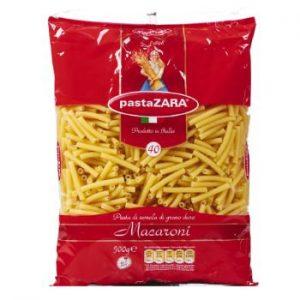 Makaroni Pasta Zara Nr.40 trubiņas 500g