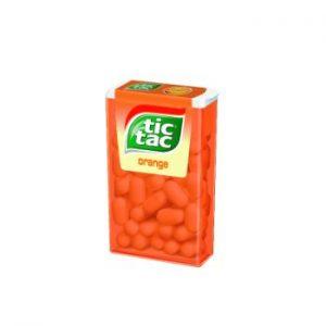 Dražejas Tic Tac Orange apelsīnu 18g
