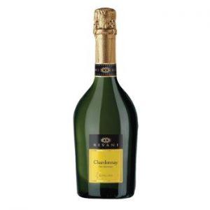 Dzirkstošais vīns Rivani Chardonnay 11% 0.75l