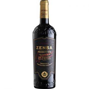 Vīns S.Zensa Primitivo IGP Puglia organic 14% 0