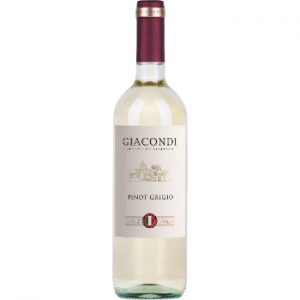 Vīns Giacondi Pinot Grigio Terre Siciliane IGT 12.5% 0.75l