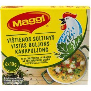Buljons Maggi vistas ar dillēm un pētersiļiem 60g