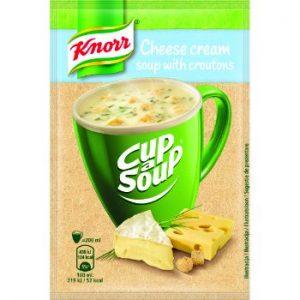 Krēmzupa Knorr CAS siera ar grauzdiņiem 22g