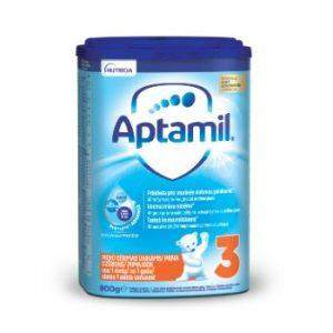 Piena maisījums Aptamil 3 no 1 gada 800g