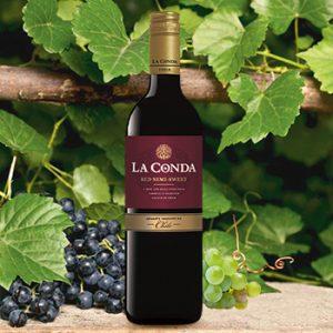 Vīns La Conda Semi-sweet sarkans 12% 0.75l