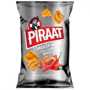 Uzkoda ar bekona un čili garšu Piraat 150g
