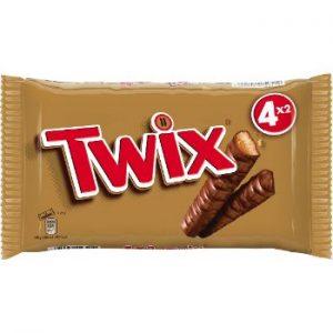 Šokolādes batons Twix 4paka 200g