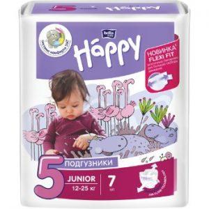 Autiņbiksītes Happy Junior 12-25kg 7gb