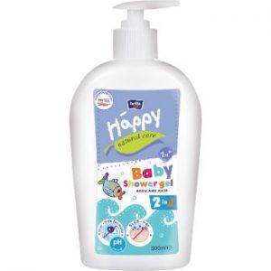 Dušas želeja bērniem 300ml Happy Natural Care
