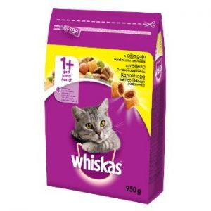 Barība kaķiem Whiskas vistas 950g