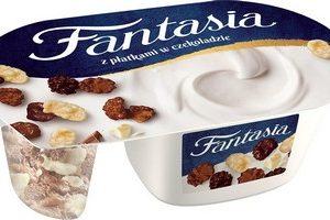 Jogurts Fantasia ar šokolādes pārslām 106g