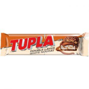 Šokolādes batoniņš Tupla White Nougat 48g