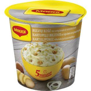 Biezenis Maggi 5min ar sīpoliem un grauzdiņiem 59g