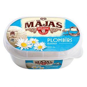 Saldējums Mājas Plombīrs 950ml/455g