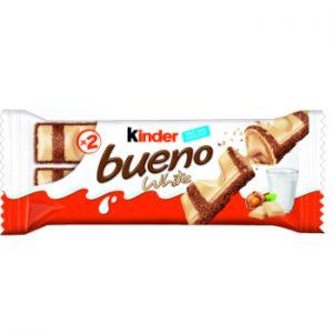 Šokolādes batoniņš Kinder bueno white 39g