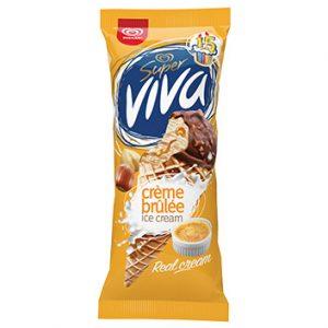 Saldējums Super Viva Crem Brule 180ml/104g