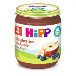 Biezenis Hipp melleņu deserts ar āboliem 125g