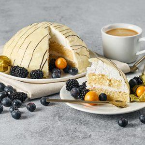 Torte Baltais lācis 700g