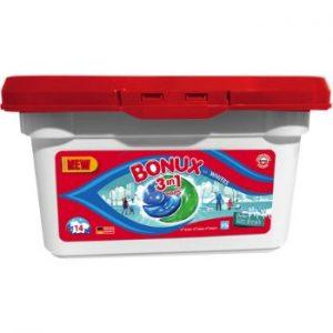 Veļas kapsulas Bonux Ice Fresh 14gb